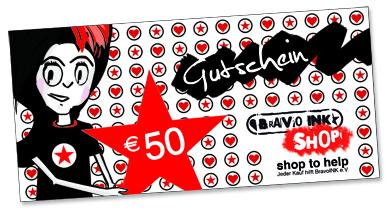 BravoINK-Shop Gutscheine